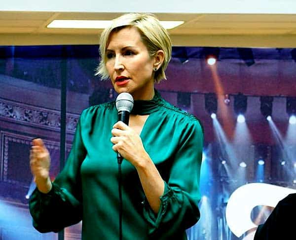 Image of Heather Mills from Larry King Live show