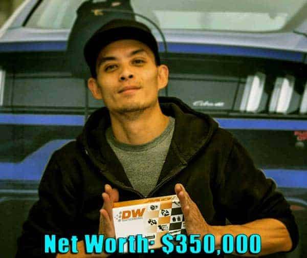Image of Street Outlaws cast Jeffery Bonnett net worth is $350,000