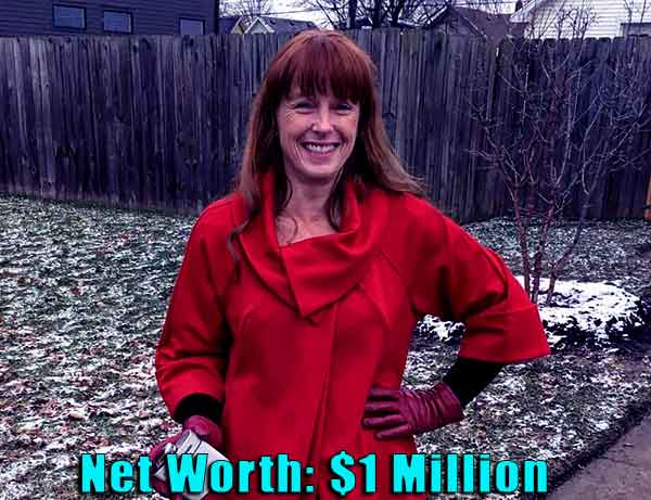 Image of TV Personality, Karen Laine net worth is $1 million