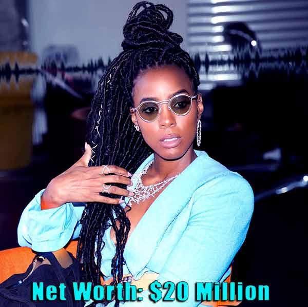 Image of American Singer, Kelly Rowland net worth is $20 million