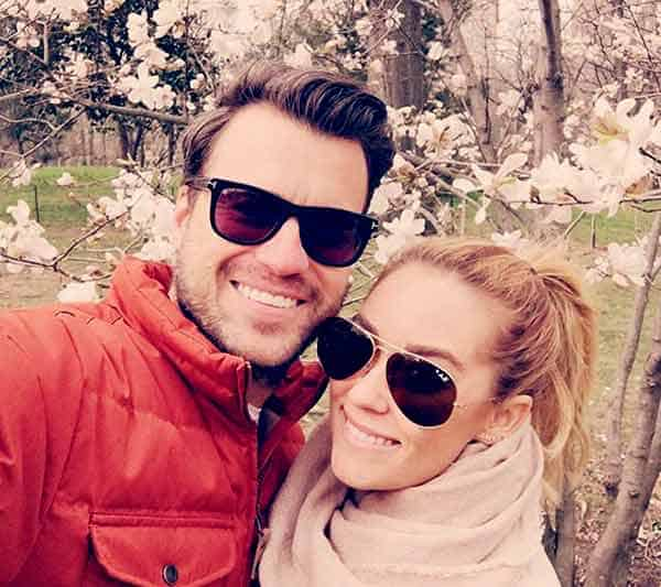 Image of Lauren Conrad with her husband William Tell