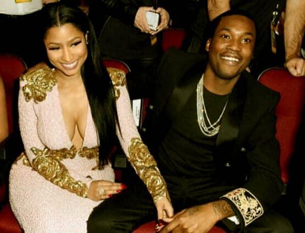 Image of Meek Mill with his ex-girlfriend Nicki Minaj