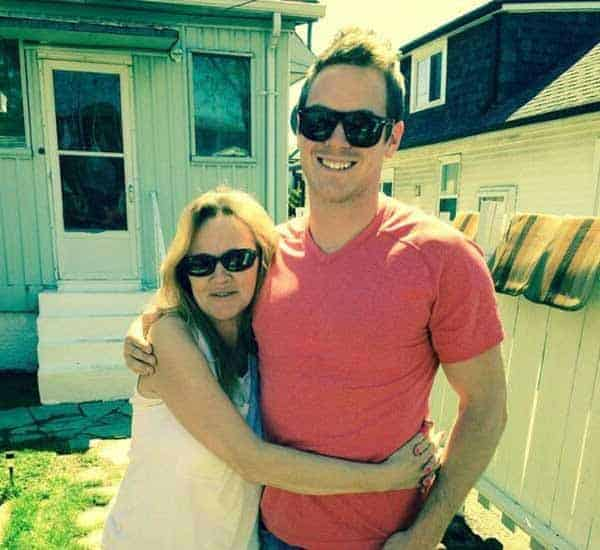 Image of Mike Holmes Jr with his mother Alexandra Lorex