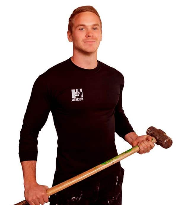 Image of Mike Holmes Jr from Holmes on Homes show