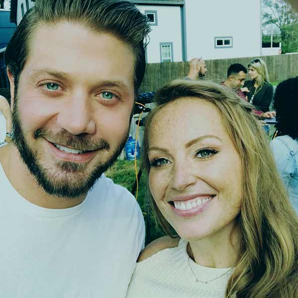 Image of Mina Starsiak with her husband Stephen Hawk