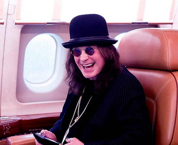 Image of Ozzy Osbourne is currently single