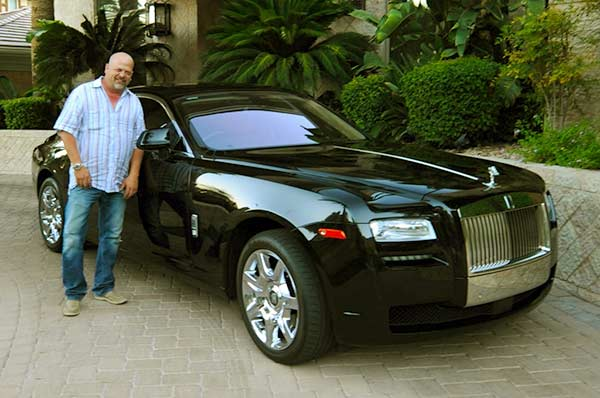 Image of TV Personality, Rick Harrison car