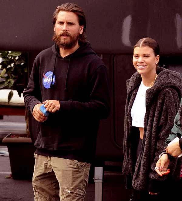 Image of Scott Disick is currently dating with Sofia Richie