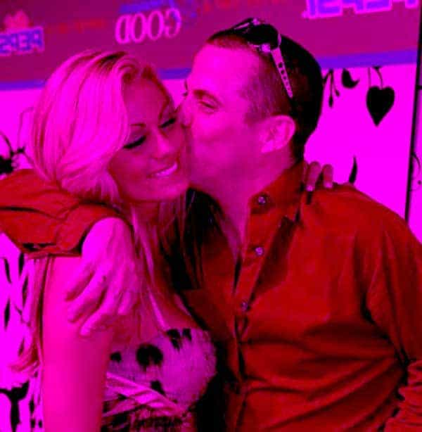 Image of Steve-O with his ex-wife Brittany McGraw