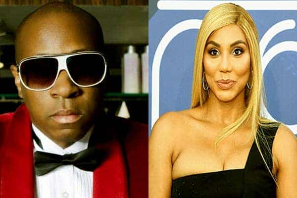 Image of Tamar Braxton with her first husband Darrell Allamby.