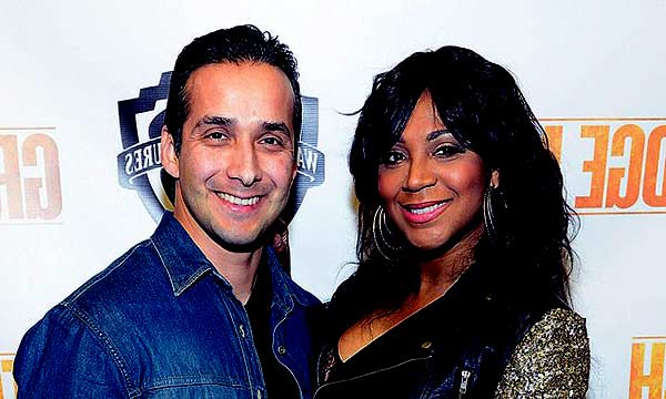 Image of Trina Braxton with her ex-husband Gabe Solis
