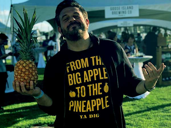 Image of Adam Richman from TV show, Man vs Food