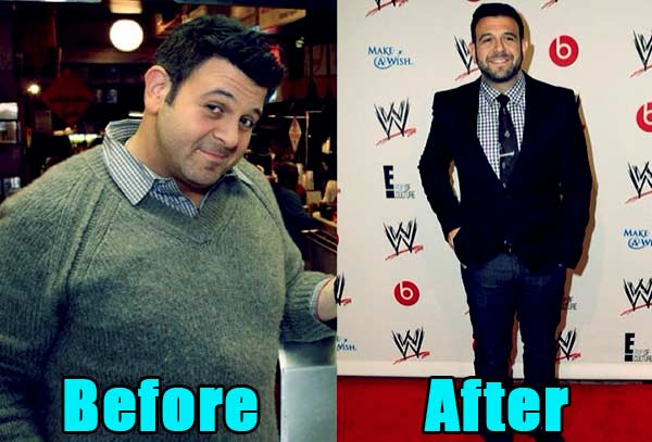 Image of Adam Richman weight loss before and after