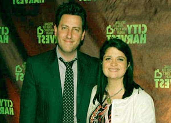 Image of Alex Guarnaschelli with her husband Brandon Clark