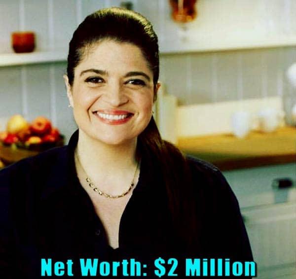 Image of Chef, Alex Guarnaschelli net worth is $2 million