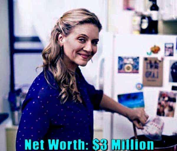 Image of Chef, Amanda Freitag net worth is $3 million