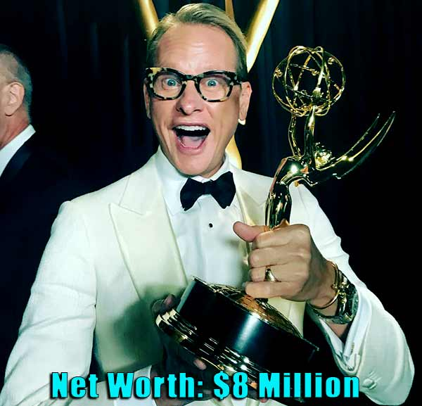 Image of TV Personality, Carson Kressley net worth is $8 million