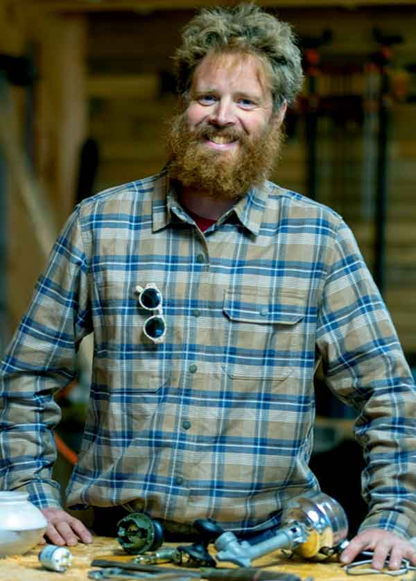 Image of Chase Morrill from TV show, Maine Cabin Masters