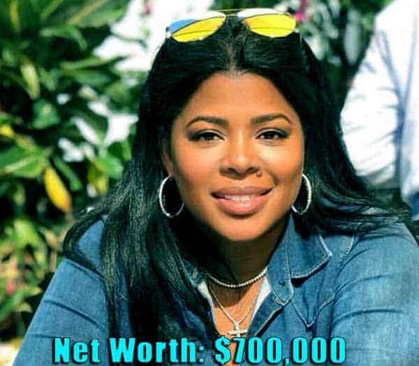 Image of TV actor, Chrissy Lampkin net worth is $700,000