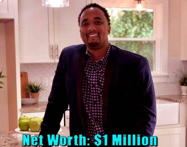 Image of American football Player, DeRon Jenkins net worth is $1 million