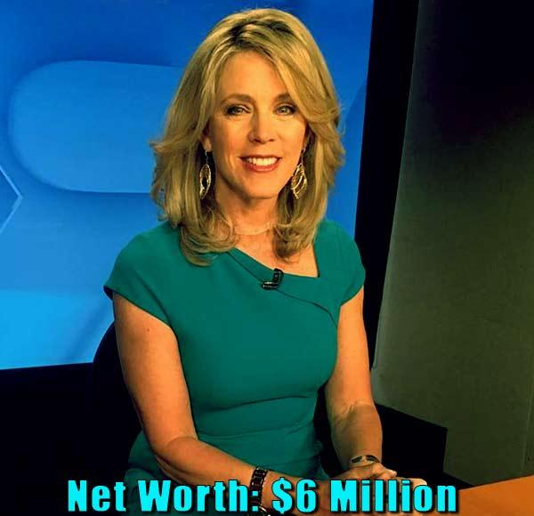 Image of TV Journalist, Deborah Norville net worth is $6 million