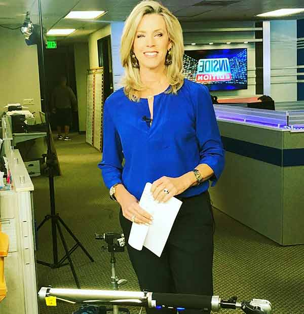 Image of Deborah Norville from American television program, Inside Edition