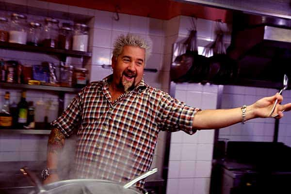 Image of Guy Fieri from TV show, Guy's Big Bite