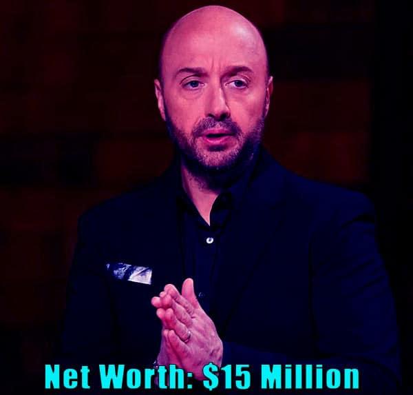 Image of TV Personality, Joe Bastianich net worth is $15 million