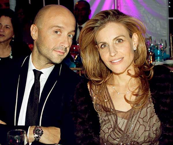 Image of Joe Bastianich with his wife Deanna Bastianich