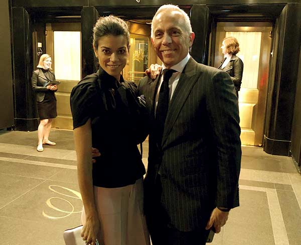 Image of Margaret Anne Williams with her husband Geoffrey Zakarian