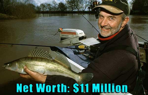 Image of Fisherman, Matt Hayes net worth is $11 million