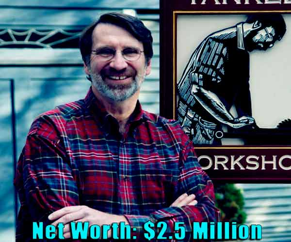 Image of TV Personality, Norm Abram net worth is $2.5 million