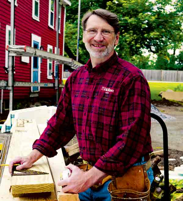 Image of Norm Abram from TV show, This Old House