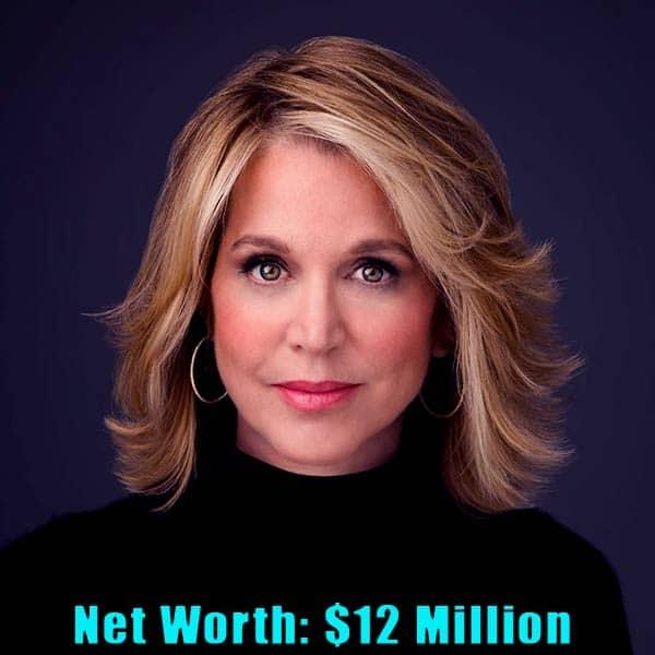 Image of American Journalist, Paula Zahn net worth is $12 million
