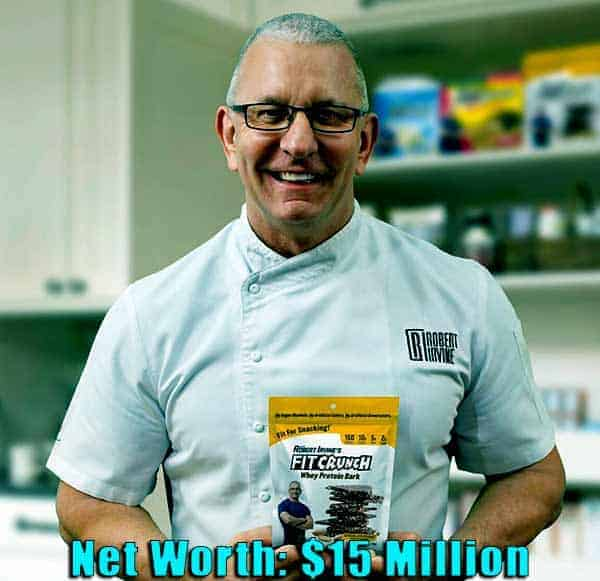 Image of Chef, Robert Irvine net worth is $15 million