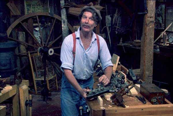 Image of Roy Underhill from TV show, The Woodwright's Shop