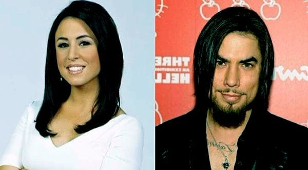Image of Dave Navarro currently dating with Andrea Tantaros
