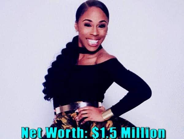 Image of TV actor, Dianna Williams net worth is $1.5 million