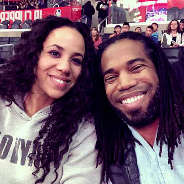 Image of Dimitri Snowden with his wife Ashley Snowden