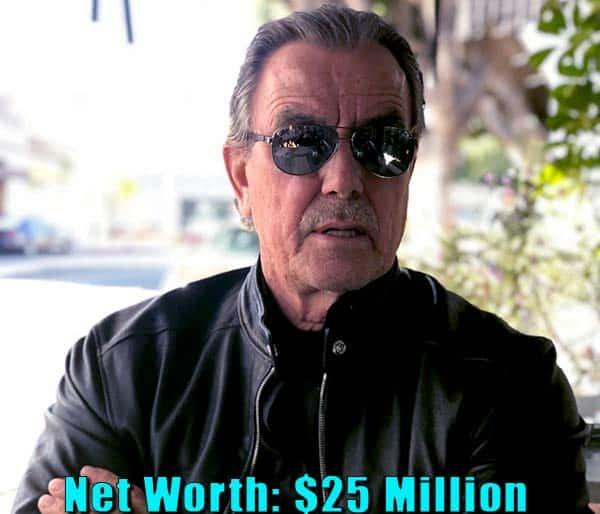 Image of Actor, Eric Braeden net worth is $25 million