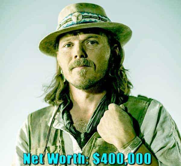 Image of TV actor, Jason Hawk net worth is $400,000