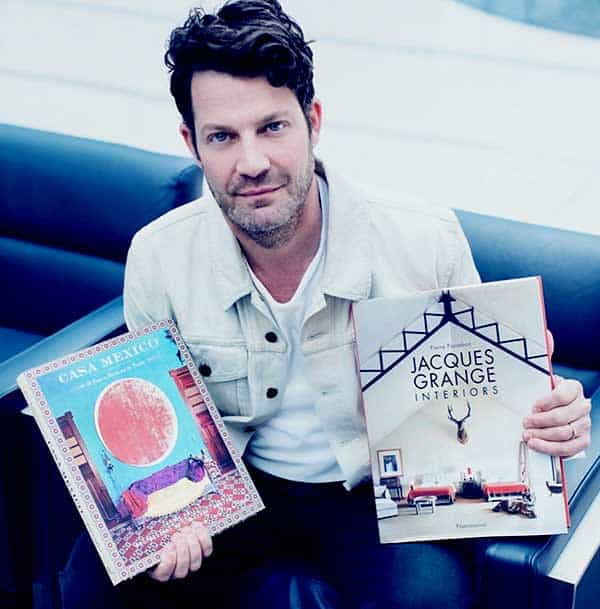 Image of Nate Berkus from TV show, Nate & Jeremiah by Design.