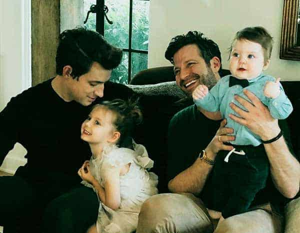 Image of Nate and Jeremiah with their kids