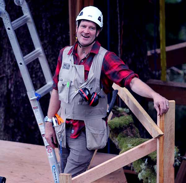 Image of Pete Nelson from TV show, Treehouse Master