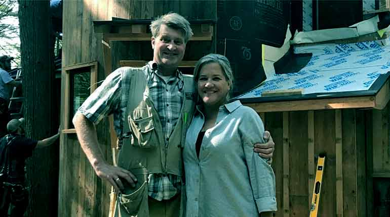 """Image of Pete Nelson from """"Tree House Master"""" Net Worth, Age, Meet his wife Judy Nelson."""