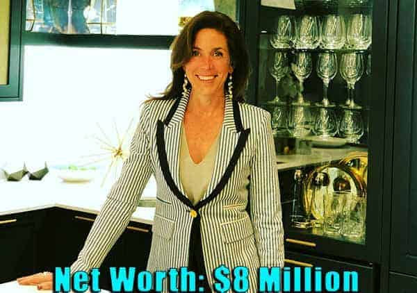Image of Canadian designer, Sarah Richardson net worth is $8 million