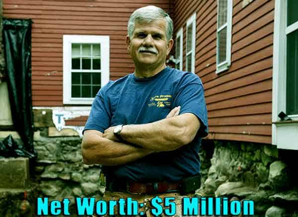Image of This Old House cast Tom Silva net worth is $5 million
