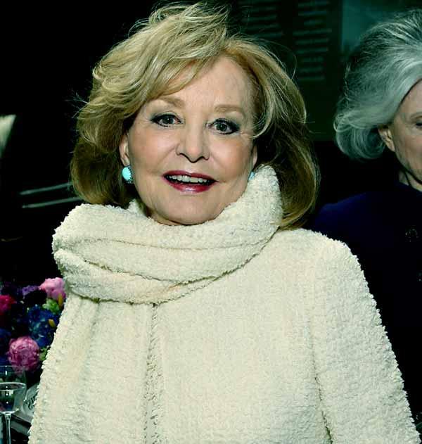 Image of American broadcaster, Barbara Walters
