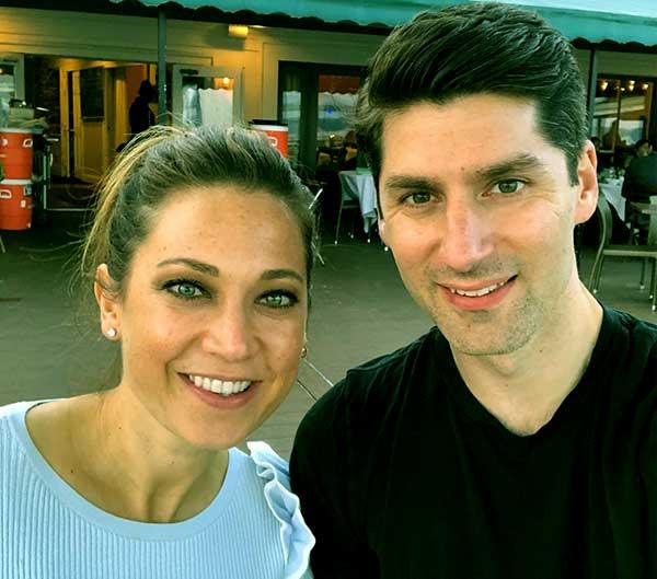 Image of Ben Aaron with his wife Ginger Zee