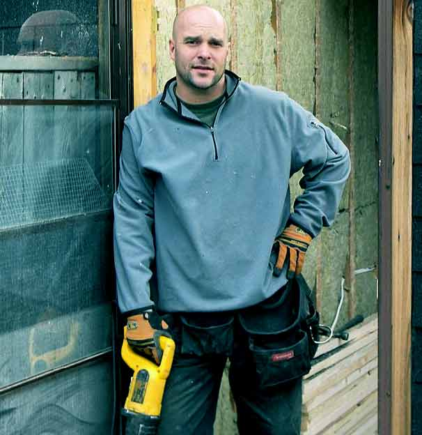 Image of Bryan Baeumler from TV show, Disaster DIY